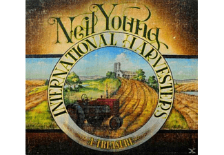 Neil Young & International Harvesters - A Treasure - (CD)
