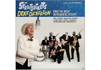 Los Straitjackets - Deke Dickerson Sings The Great Inst - (LP + Bonus-CD)