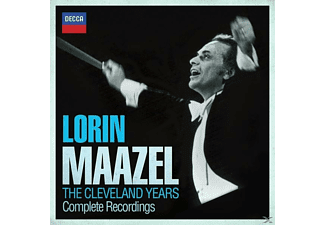 MAAZEL/CO/+ - Lorin Maazel-The Cleveland Years - (CD)