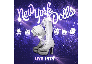 New York Dolls - The New York Dolls-Live 1974 - (CD)