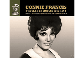 Connie Francis - Usa & Uk Singles 1955-62 [CD]