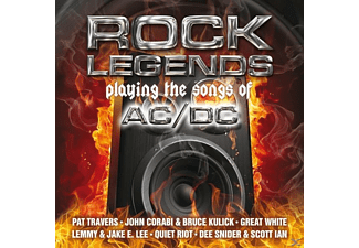 VARIOUS - Rock Legends Playing The Songs Of A - (Vinyl)