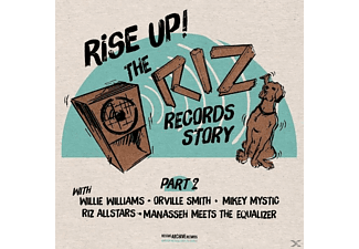 VARIOUS - Rise Up-The Riz Records Story Part 2 [Vinyl]