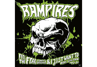 The Rampires/hitchcocks - Feel The Fear/Deathrow (Split Single) - (Vinyl)