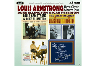 Armstrong/Ellington/Peter - 3 Classic Albums Plus - (CD)