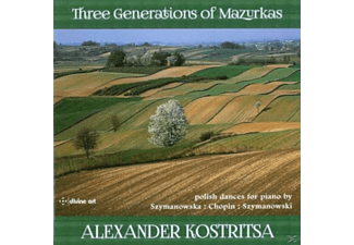 Alexander Kostritsa - Three Generations of Mazurkas - (CD)