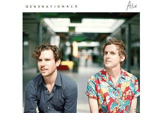 Generationals - Alix [LP + Download]