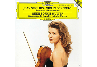 VARIOUS, Mutter,Anne-Sophie/Previn,Andre/SD - Violinkonzert D-Moll/Serenaden [CD]