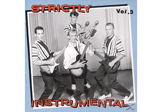 Various - Vol.3, Strictly Instrumental - (CD)