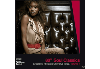 VARIOUS - 80 s Soul Classics Vol.1 - (CD)