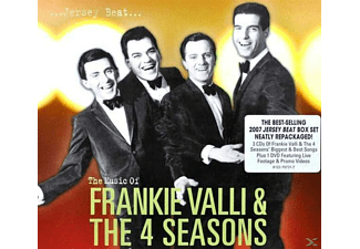Frankie Valli & The Four Seasons - Jersey Beat-The Music Of Frankie Valli+The Four Se - (CD + DVD Video)