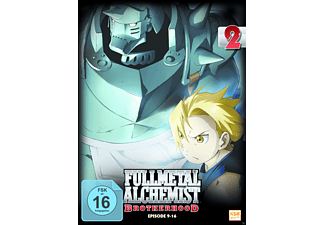 Fullmetal Alchemist - Brotherhood - Volume 2 (Folge 09-16) - (DVD)