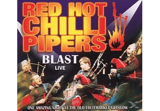 Red Hot Chilli Pipers - Blast Live - (CD)