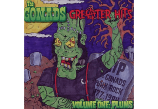 The Gonads - Greater Hits-Volume One: Plums [CD]