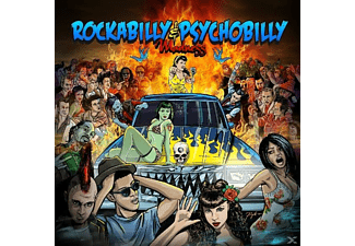 VARIOUS - Rockabilly & Psychobilly Madness - (CD)