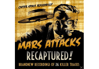 Mars Attacks - Recaptured! - (CD)