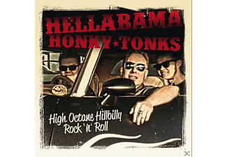 Hellabama Honky Tonks - High Octane Hillbilly Rock'n'roll! [CD]