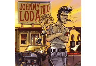 Johnny -& The Eccorecs- Loda, Johnny Trio Loda - Godforsaken Land - (CD)