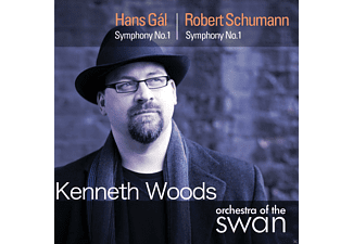 Kenneth Woods, Orchestra Of The Swan - Sinfonie 1 - (CD)