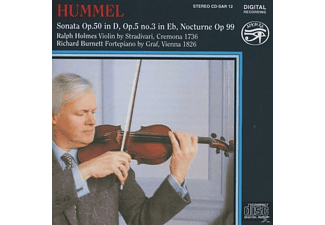 Burnett Holmes - Violin & Piano Works - (CD)
