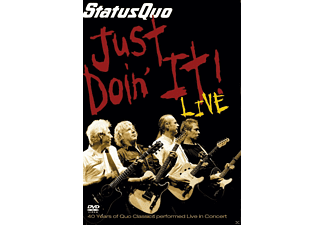 Status Quo - JUST DOIN IT! - LIVE - (DVD)
