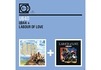 Ub40 - 2 For 1: Ub44/Labour Of Love [CD]