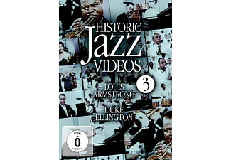 Louis Armstrong, Duke Ellington - Historic Jazz Videos - Vol. 3 - (DVD)