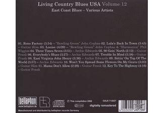 Various & East Coast Blues - Living Country Blues Usa-Vol.12 [CD]