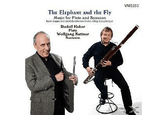 Huber, R. & Kuttner, W. - The Elephant A.T.Fly [CD]