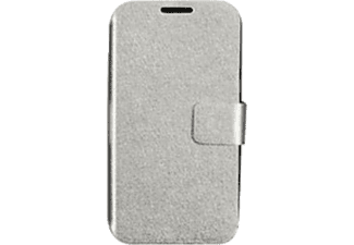IWILL DSS426 Samsung Galaxy S4 Leather Case Gümüş