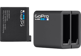 GOPRO Dual Battery Charger + Battery - För HERO4