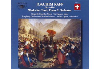 Quinn, Joseph Joachim Raff - Works For Choir, Piano & Orchestra - (CD)