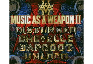 Disturbed, Chevelle, Taproot, Unloco - Music As A Weapon 2 - (CD + DVD)