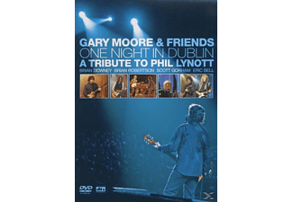 Gary Moore, VARIOUS - One Night In Dublin - A Tribute To Phil Lynott - (DVD)