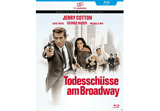 TODESSCHÜSSE AM BROADWAY (JERRY COTTON) [Blu-ray]