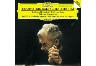 Karajan, Hendricks, Dam, Hendricks/Dam/Karajan/WP - Ein Deutsches Requiem [CD]