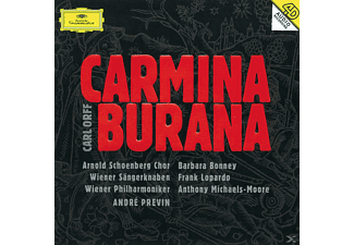 VARIOUS, Bonney/Previn/WP - Carmina Burana [CD]