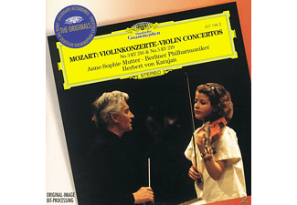 VARIOUS, Mutter,Anne-Sophie/Karajan,Herbert Von/BP - Violinkonzerte 3, 5 [CD]