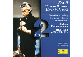 Carl August Nielsen, Janowitz/Schreier/Karajan/BP/+ - Messe H-Moll Bwv 232 - (CD)