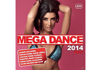 VARIOUS - Mega Dance 2014 Vol.2 - (CD)