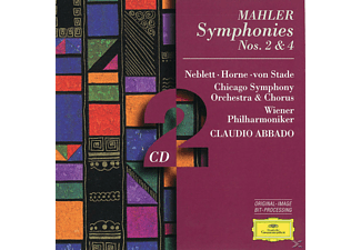 Chicago Symphony Orchestra, Claudio/cso Abbado - Sinfonien 2, 4 - (CD)