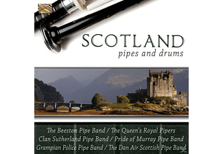 VARIOUS - Scotland-Pipes And Drums [CD]