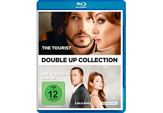 The Tourist & Mr. & Mrs. Smith [Blu-ray]