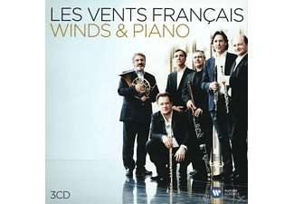PAHUD,EMMANUEL/LES VENTS FRANCAIS/LE SAGE,ERIC - Winds And Piano - (CD)