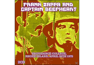 Frank And Captain Beefheart Zappa - Providence College, Rhode Island, April 26th 1975 [CD]