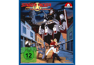 001 - SABER RIDER AND THE STAR SHERIFFS - (Blu-ray)