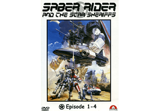 Saber Rider and the Star Sheriffs – Vol.1 (Episode 1 - 4) [DVD]