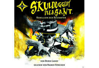 Skulduggery Pleasant 05: Rebellion der Restanten - (CD)