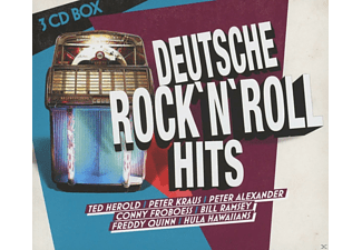 VARIOUS - Deutsche Rock'n'roll Hits (3 Cd Box) - (CD)