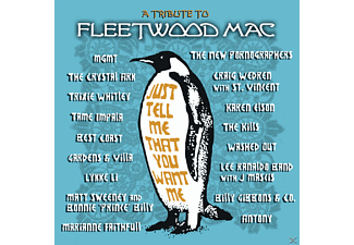 VARIOUS - Just Tell Me That You Want Me - A Tribute To Fleetwood Mac - (CD)